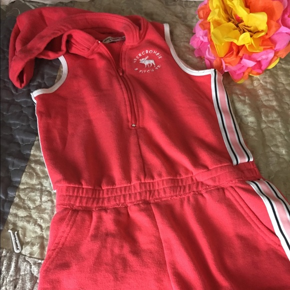 d18393a7382a abercrombie kids Other - Abercrombie Girl Romper 🌸Excellent Condition!